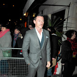 WWW.ENTSIMAGES.COM - Luke Evans arriving  at  Django Unchained - UK film premiere after Party at Aqua Club ,London January 10th 2013 Photo Mobis Photos/OIC 0203 174 1069