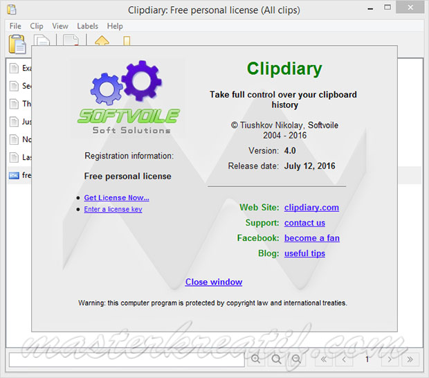 Clipdiary 4.0