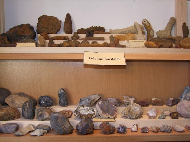 Folyami hordalék leletek Vanyarcról
