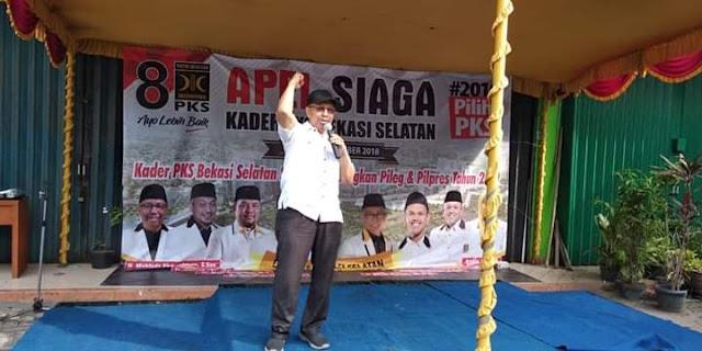 Mahfudz Abdurrahman Adakan Road Show Apel siaga PKS