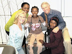 A teacher and nurse, Edeline survived the collapse of her elementary school in the Haiti earthquake despite five fractured vertebrae. She is currently in San Diego with her sister, Isemene, undergoing physical rehab under the direction of Dr. Lee Rice.
