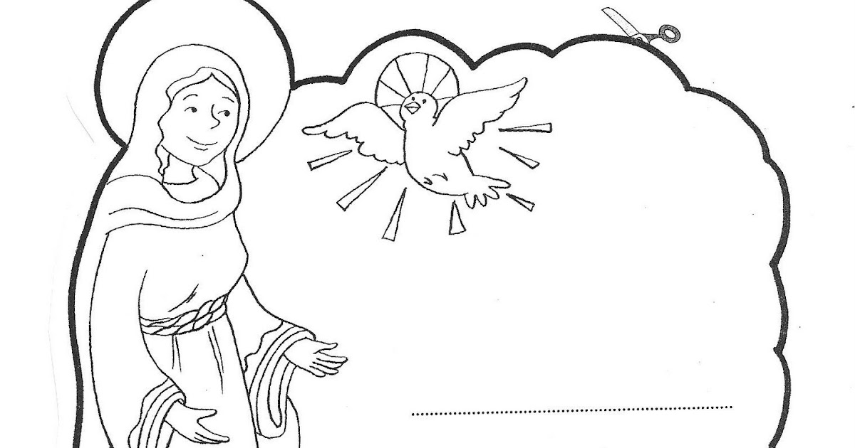 marie coloring pages - letter to virgin marie coloring pages coloring pages