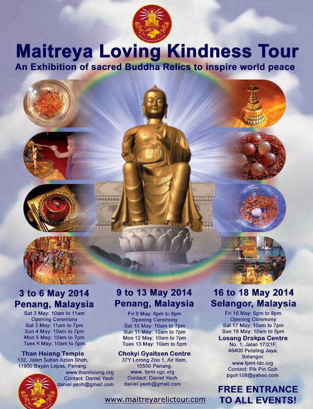 Announcement: Maitreya Loving Kindness Tour