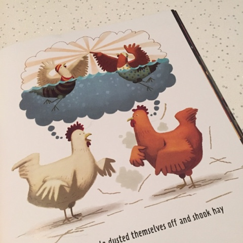 chicken dance book illustrations