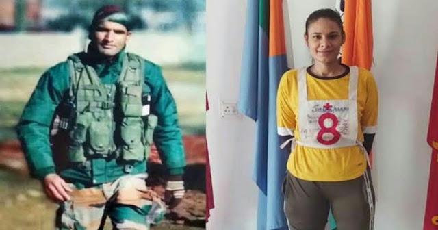 शहीद की पत्नी बनने जा रही है सेना में अफसर, तीन पीढ़ियां रही है सेना का हिस्सा
