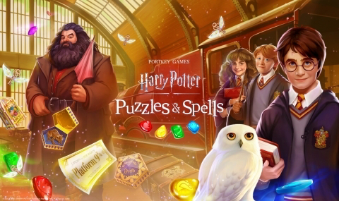 Zynga lança mundialmente Harry Potter: Puzzles & Spells