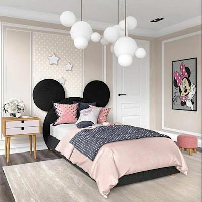Quarto inspirado na Minnie