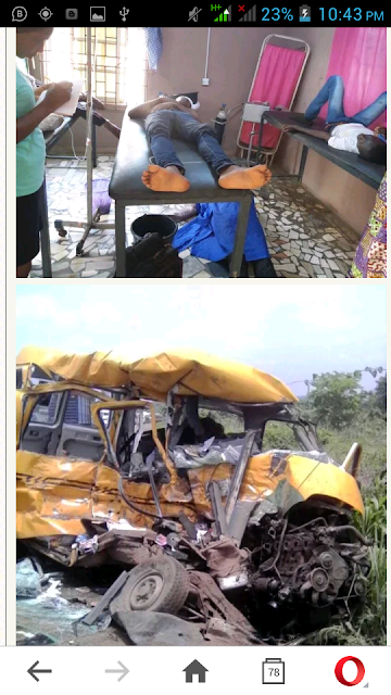 12 People Killed In Fatal Car Accident Along Lagos-Ibadan Expressway. Photos