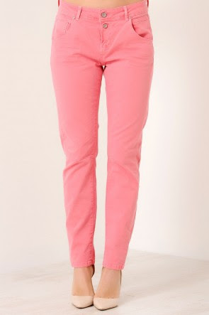 Bliss Anti Fit Jeans in Coral, €49.95