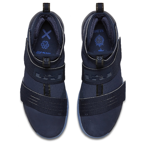 Release Reminder Nike LeBron Soldier 10 Midnight Navy
