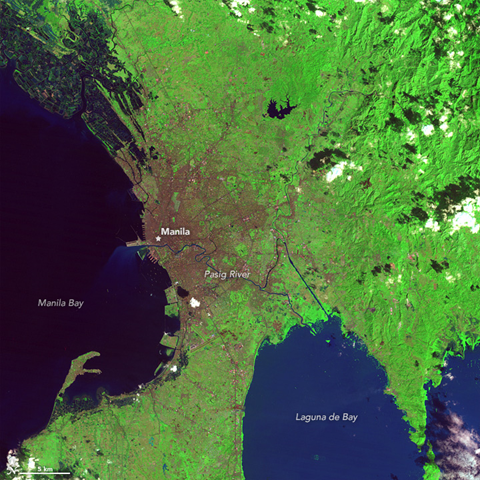 Image of the Day: Satellite view of the growth of Manila ...