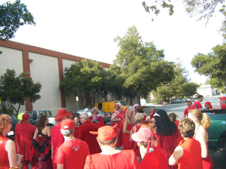 2005 - Red Dress - off peak