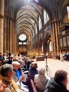 Pélérinage à la cathédrale 25 avril 2015