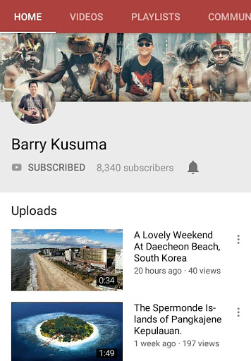 barry kusuma youtube