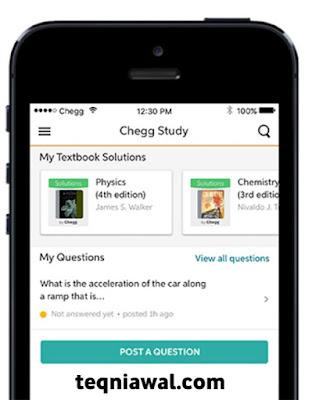 Chegg - أفضل تطبيقات الايفون 2021