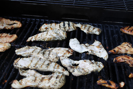 Grilling In Bulk plus Asian Chicken Salad Recipe