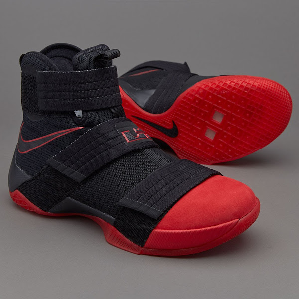 Detailed Look at LeBron Soldier 10 Ohio State aka Red Toe