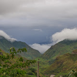 La vallée du Rio Mira vue depuis Bosque de Paz (El Limonal, Imbabura), 5 décembre 2013. Photo : J.-M. Gayman