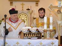 Mgr.Szalay Gyula esperes és Zirig Kristóf diakónus.JPG