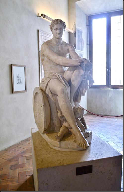 Ares Ludovisi - Palacio Altemps - Roma - Viaje 2014