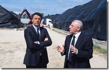 Matteo Renzi e Vincenzo De Luca