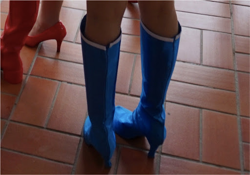 f420313b766ca How to make Boots cover with Non-stretchy cloth