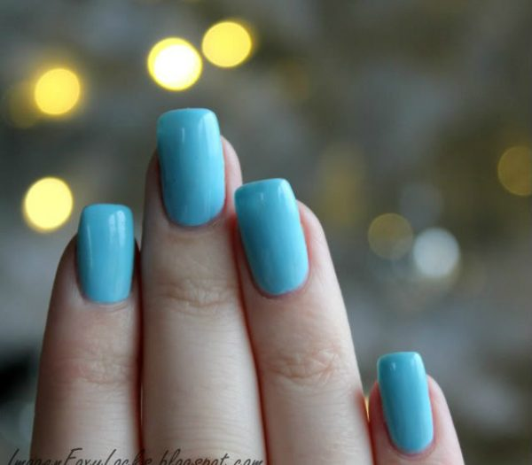 Best 40 Light Blue Nail Designs For 2018 Fashionre