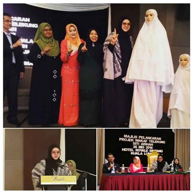Jom sertai Projek Wakaf Telekung Siti Aishah 2016