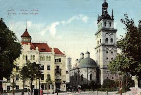 Львовская Успенская церковь и башня Корнякта