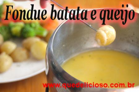 Fondue batata e queijo