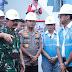 Cek Langsung Dampak Banjir, Panglima TNI Dan Kapolri Kunjungi Gardu Induk PLN Di Kembangan Jakbar
