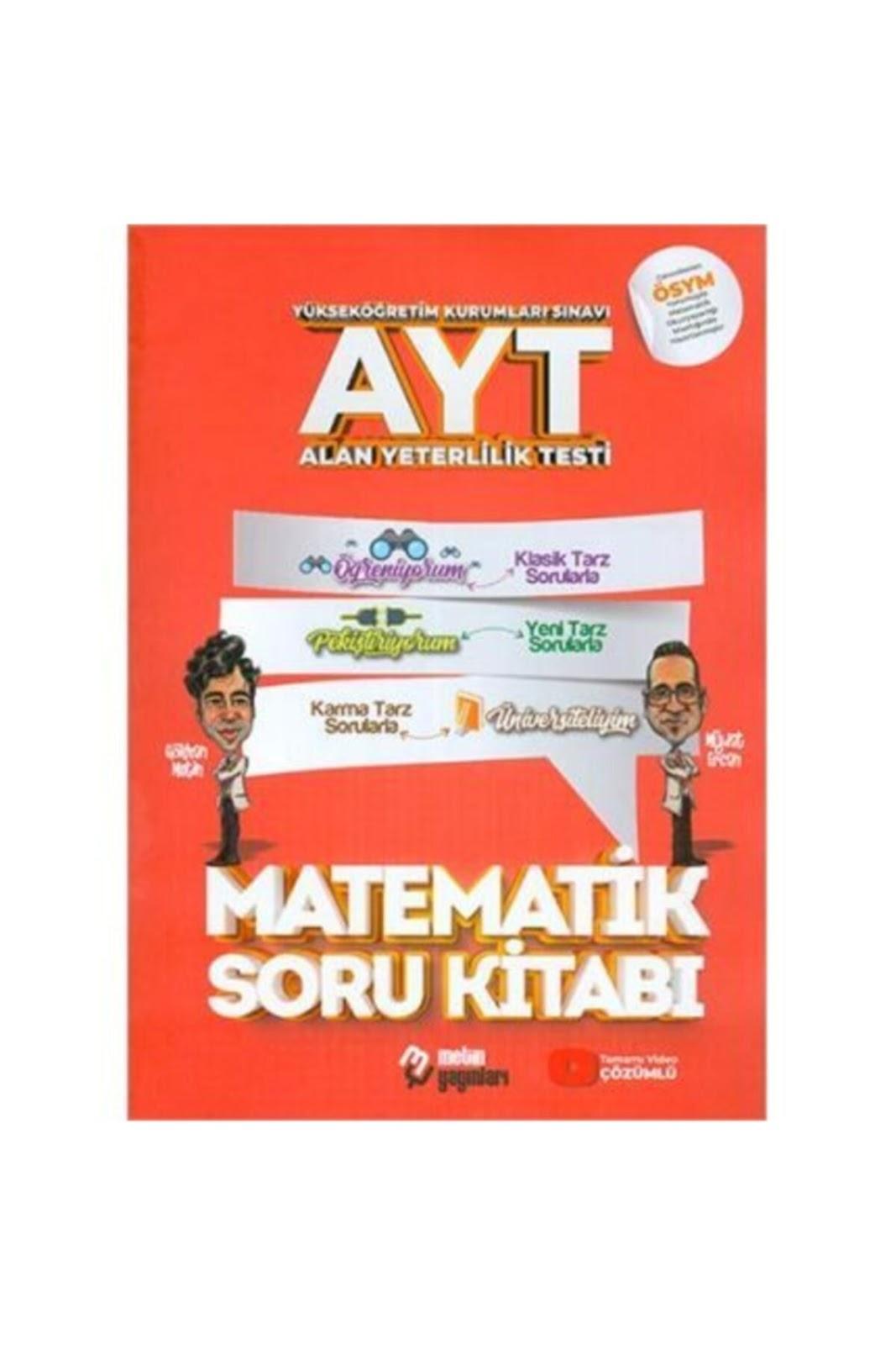 Metin Yayınları - AYT Matematik - Soru Bankası