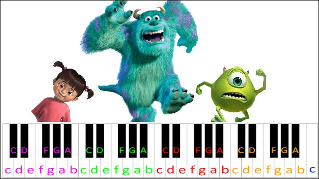 Roblox Song Id Monsters Inc Monsters Inc Theme Song Piano Letter Notes