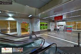 Intercambiador de Plaza de Castilla en Google Indoor