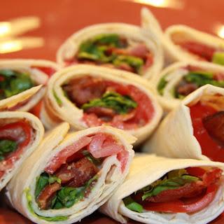 BLT Wrap Sandwich #SandwichRecipesWorldwide
