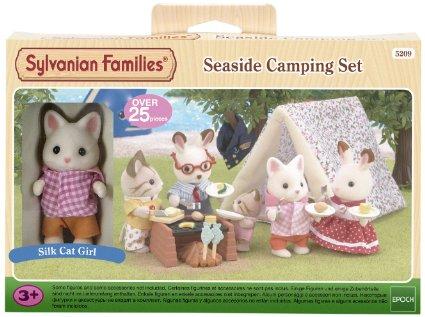 Bộ cắm trại Sylvanian Families Seaside Camping Set