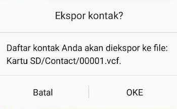 solusi cara kontak wa kosong android lollipop lenovo a6000