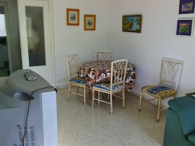 Salón/comedor - Piso en alquiler en Teatinos, Málaga - Universidad