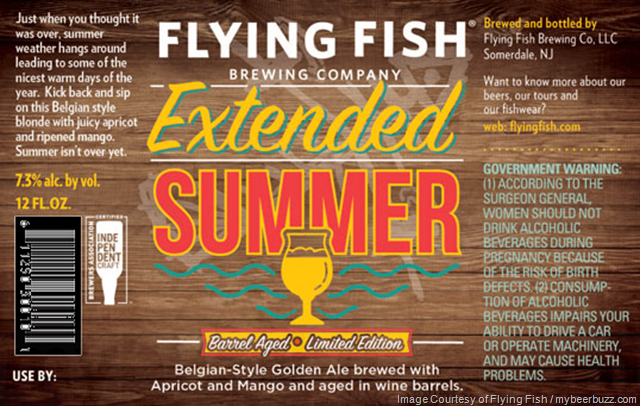 Flying Fish Adding Extended Summer
