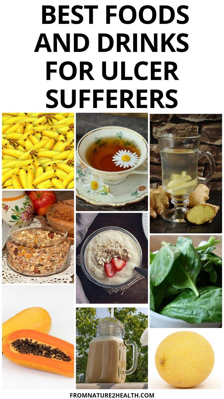 Best Foods and Drinks for Ulcer Sufferers
