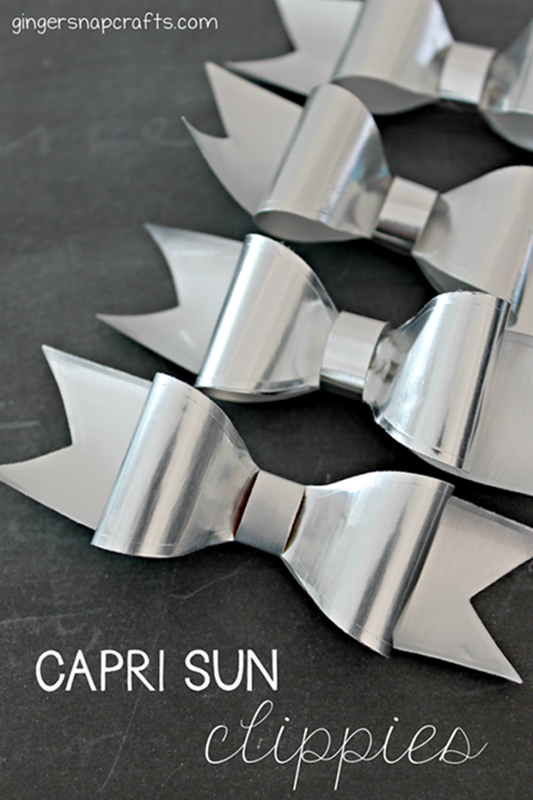 Capri Sun Hair Clippies Tutorial at GingerSnapCrafts.com #caprisunmomfactor #spon_thumb[2]_thumb[1]