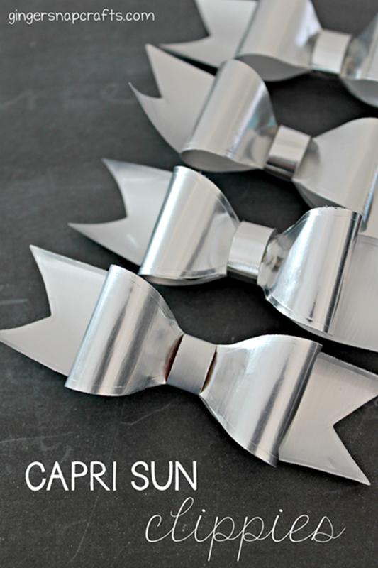 Capri Sun Hair Clippies Tutorial at GingerSnapCrafts.com #caprisunmomfactor #spon_thumb[2]_thumb[1]