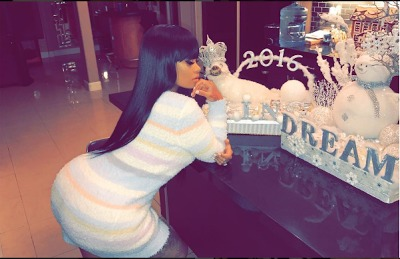 Blac Chyna Shows Off Post Baby-Body In New Photo