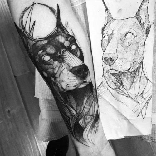 este_impressionante_doberman_tatuagem