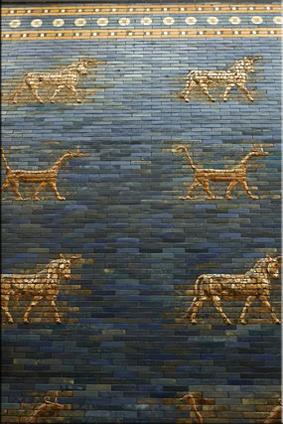 Relieves de la Puerta de Istar - Pergamonmuseum - Berlín'15