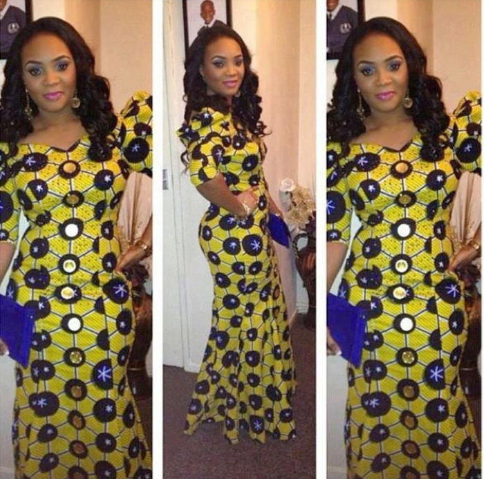 Latest Nigerian Ankara Styles Dress For Ladies 2016 Fashionte