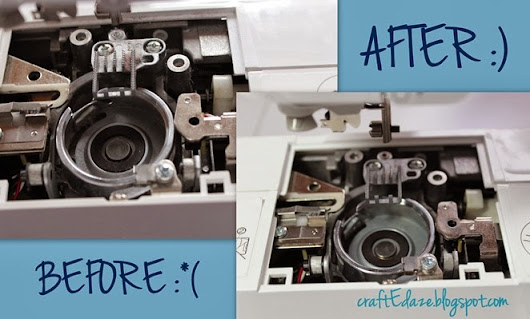 How to Clean your Sewing Machine–Lint free in 5 minutes or less!