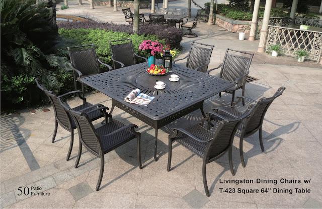 livingston patio table set dwl patio furniture nj wholesale