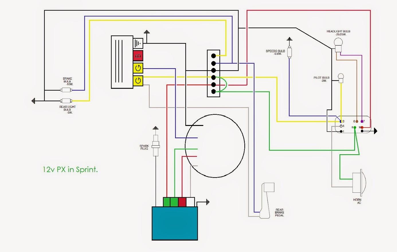 150cc Engine Wiring Diagram Tank Atv