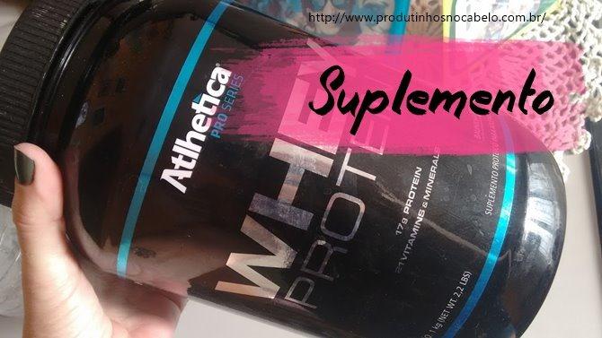 Whey Protein da Atlhetica